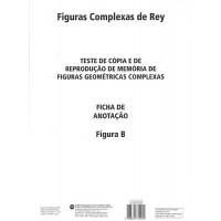 Figuras Complexas de Rey - Bloco de Resposta Figura B