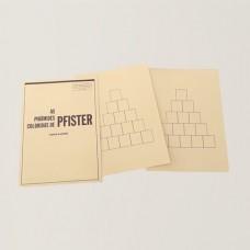 As Pirâmides Coloridas de Pfister - Cartelas de base