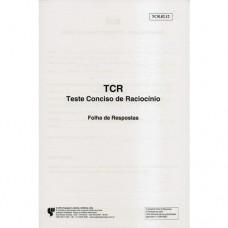 TCR - Teste Conciso de Raciocínio - Bloco de Resposta