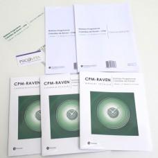 CPM RAVEN - Matrizes Progressivas Coloridas de Raven - Kit Completo