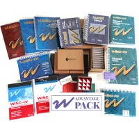 W Pack Advantage ( WISC-IV + WAIS-III + WASI + LIVROS + Lic. Dybuster Calcularis + Lic. Cogmed )