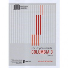 CMMS-3 - Escala de Maturidade Mental Colúmbia 3 - Bloco de folhas de respostas
