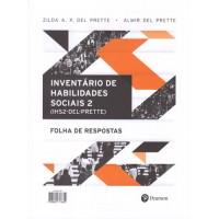 IHS2 - Inventário de Habilidades Sociais - Bloco de folha de resposta