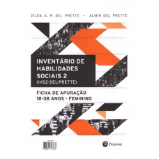 IHS2 - Inventário de Habilidades Sociais - Bloco de Apuração Feminino - 18 a 38 anos