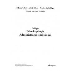 Z-Teste - Zulliger - 25 Folhas de aplicação (Administração Individual)
