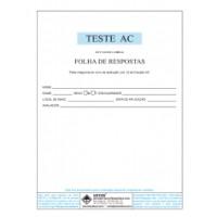 AC - Teste de Atenção Concentrada - Livro de Aplicação Vol. 2 com 50 folhas