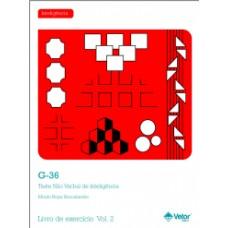 G-36 - Teste Não Verbal de Inteligência - Livro de Exercício Vol. 2