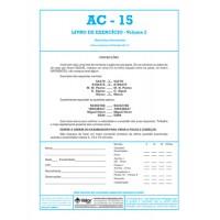 AC-15 - Teste de Atenção Concentrada - Livro de Exercício Vol. 2