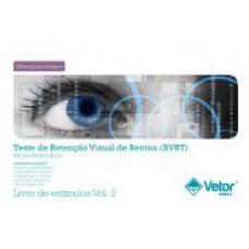 BVRT - Retenção Visual de Benton - Livro de Estímulos Forma C e D Vol. 2