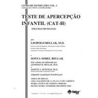 CAT-H - Teste de Apercepção Infantil – Figuras Humanas- Livro de Instruções Vol. 1 - Original e Adaptação