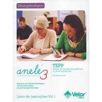 ANELE 3 - TEPP - Tarefa de Escrita de Palavras e Pseudopalavras - Livro de Instruções Vol. 1