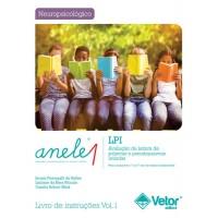 ANELE 1 - LPI - Avaliação de Leitura de Palavras e Pseudopalavras Isoladas - Livro de Instruções Vol. 1