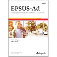EPSUS-Ad - Escala de Percepção do Suporte Social - Adolescente - Manual