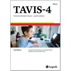 TAVIS-4 - Teste de Atenção Visual - Coleção - 4ª edição