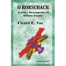 O Rorschach: teoria e desempenho II - Manual