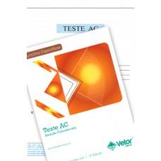 AC - Teste de Atenção Concentrada - Coleção (com 1 bloco de Aplicação)