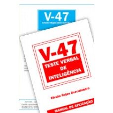 V-47 - Teste Verbal de Inteligência  - Coleção